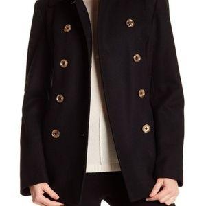 NWOT MICHAEL Michael Kors Double-Breasted Pea Coat